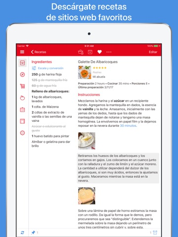 Paprika Recipe Manager 3 screenshot 2