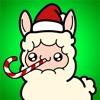 動態聖誕羊駝表情包