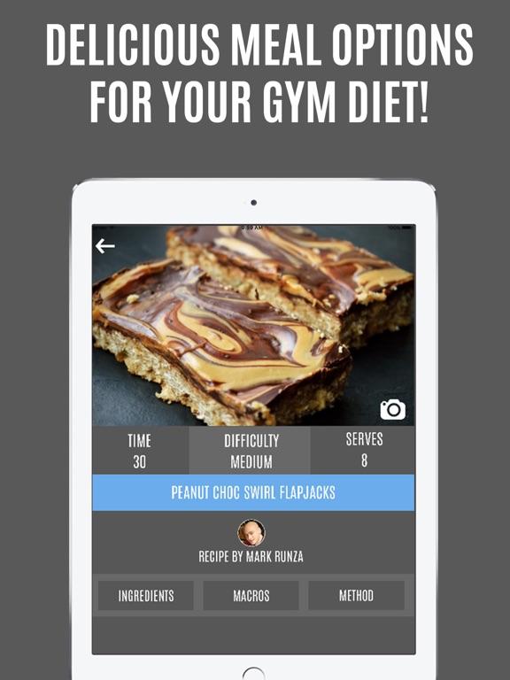 Gymster+ Weight Lifting IIFYM Screenshots