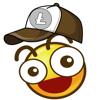 Phairin Chailert - Litecoin Moji-LTC Emoji artwork