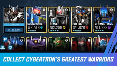 TRANSFORMERS: Forged to Fight iPhone