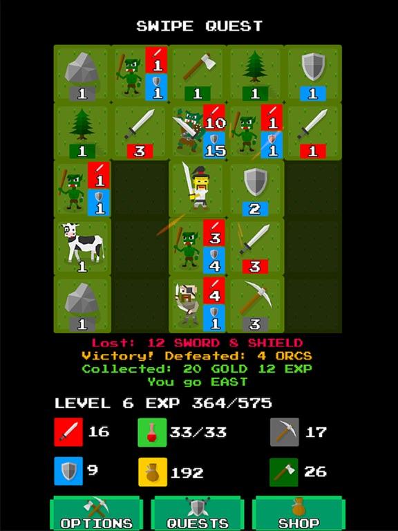 Swipe Quest для iPad