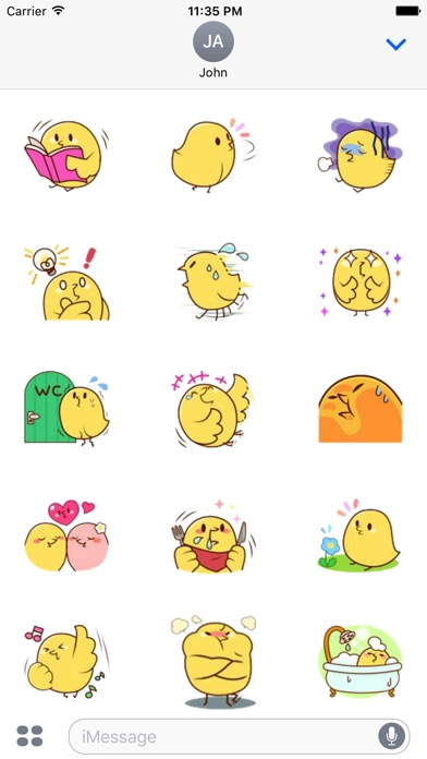 Chickens Emotion Stickers review screenshots