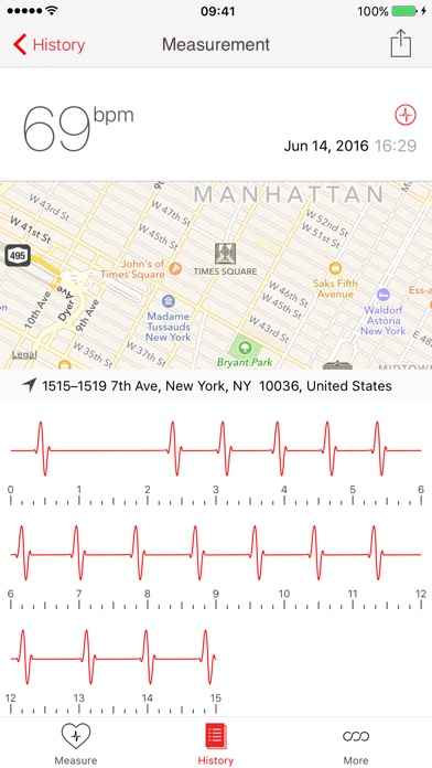 Cardiograph Screenshots