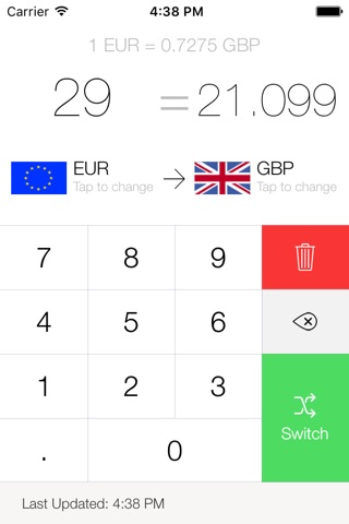 My Currency Converter Pro screenshot 3