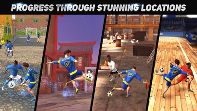SkillTwins Football Game 2 screenshot 3
