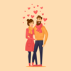 Mobisoft Labs - Animated Cute Couple Love  artwork