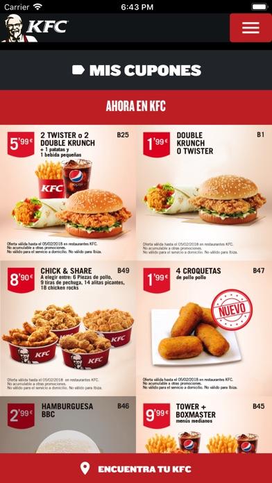 download KFC España - Ofertas apps 3