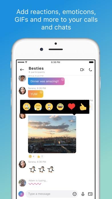 Skype for iPhone screenshot 2