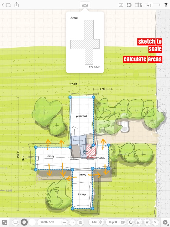 Archisketch adds Area Calculations and User Friendly Features Image