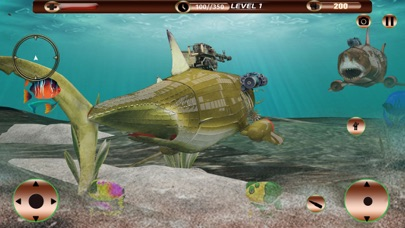Angry Robot Shark Simulator screenshot 5