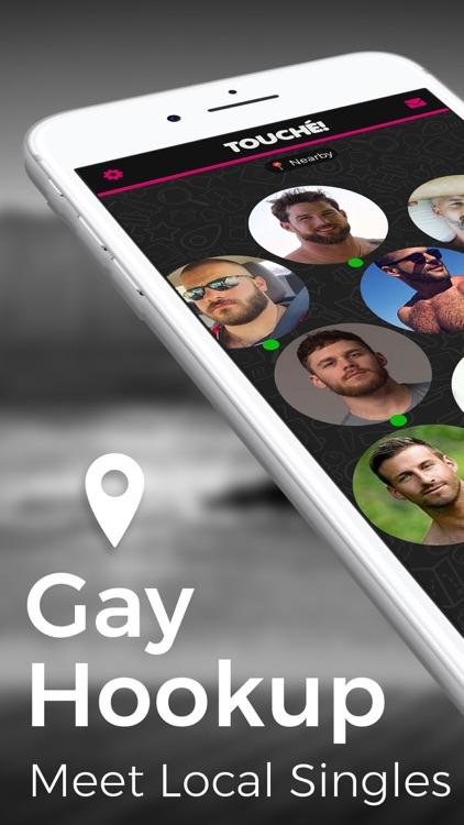 Gay Chat, Meet, Hookup. Touché screenshot-1