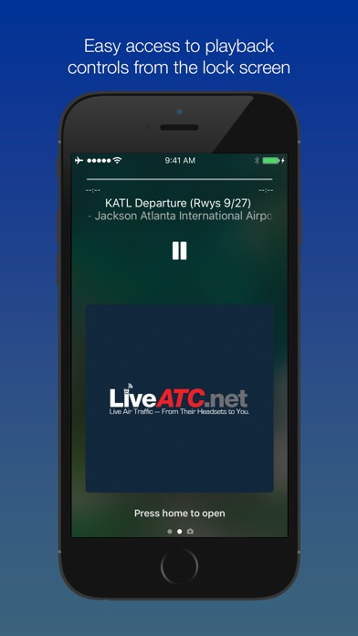 LiveATC Air Radio screenshot1