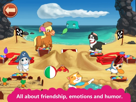 Peppy Pals Beach: SEL for kids Screenshots