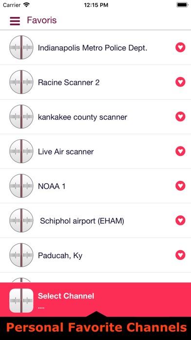 Police & radio scanners liveScreenshot of 5