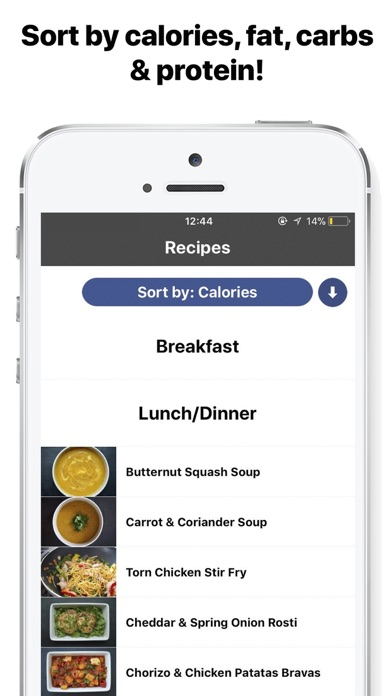 Screenshot #5 for Gymster- Workouts + IIFYM Diet