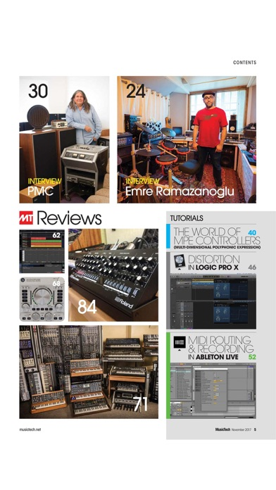 Musictech Magazine review screenshots