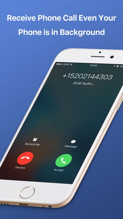 download 2Call Second Phone Call Number appstore review
