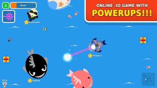 Piranh.io Screenshot
