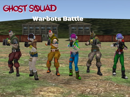 Image of Ghost Squad for iPad