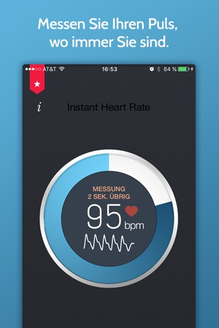 Instant Heart Rate+ HR Monitor screenshot 1