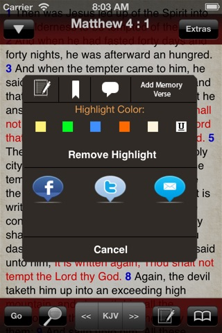 BibleScope screenshot 4
