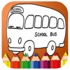 Coloring Book School Bus Cartoon Painting Wiki