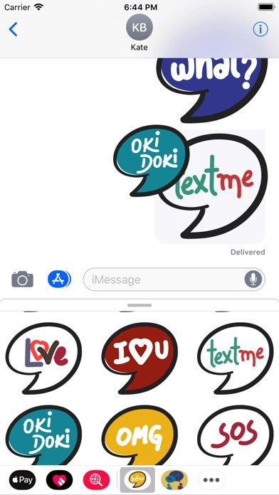 download TextMe Stickers apps 2