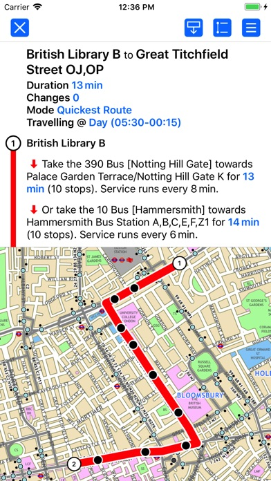 download London Bus by Zuti apps 2