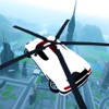 Fliegen Auto Futuristisch Rettungs-Hubschrauber Flight Simulator - Extreme Muscle Car 3D