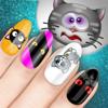 Diseños Para Uñas Con Los Gatitos – Spa Y Salón De Belleza Más Bonito Para Niñas Pequeñas