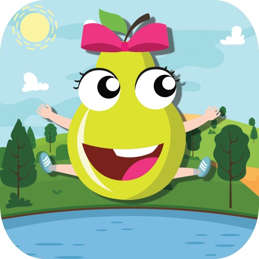 Moving Apple Blossom Get Dropping Point Game for Shopkins Edition iOS App