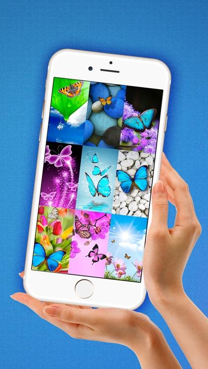 Butterfly Wallpaper Hd Vibrant Lock Screen Beautiful Abstract