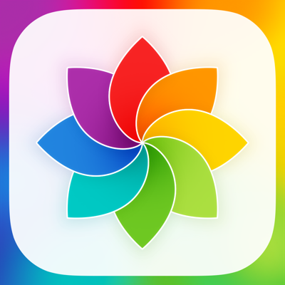 Rainbow Wallpapers for iOS7 app review: a girly wallpaper collection with new content added every day