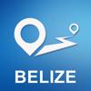 Belize Offline GPS Navigation & Maps Icon
