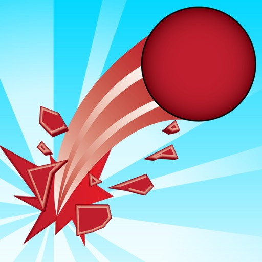 Impossible Red Ball Dash (Pro) iOS App