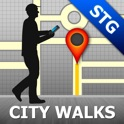 Santiago Map and Walks, Full Version icon