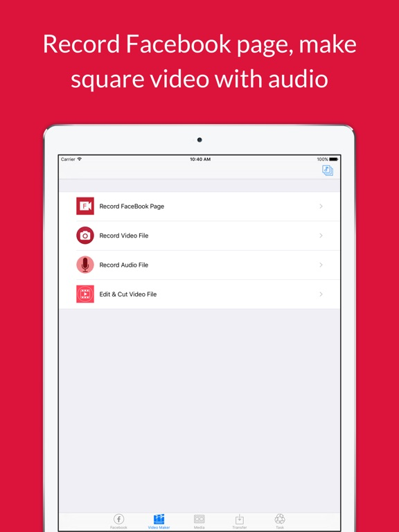 Video grabby free video save video editor on the app store ipad screenshot 2 ccuart Image collections