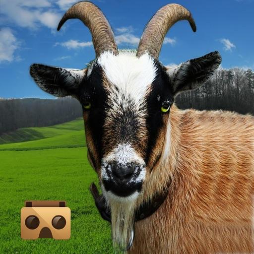 VR Crazy Goat Simulator Free iOS App