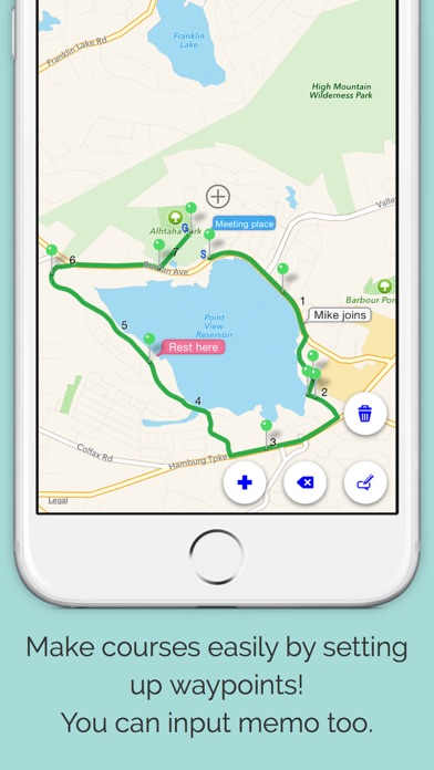 download RouteDesigner - Running,Walk,Cycling courses apps 0