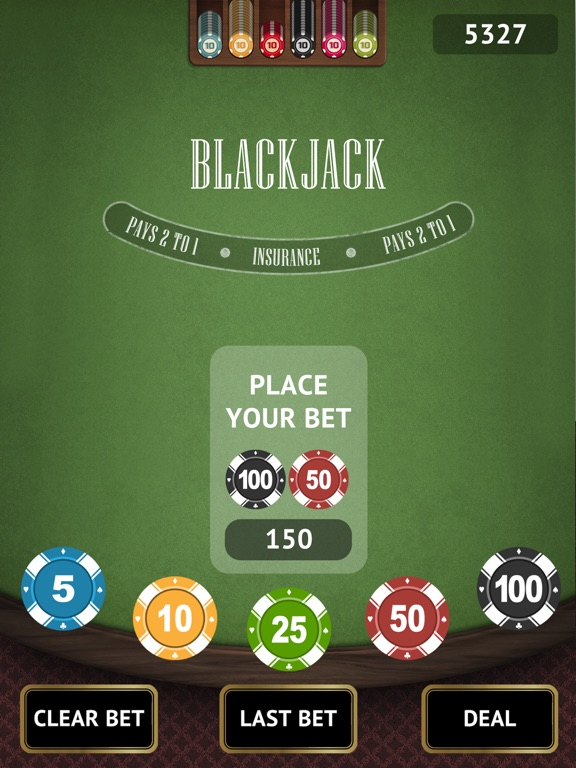 Blackjack 21 Challenge для iPad