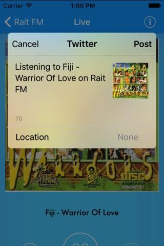 Rait FM screenshot 4