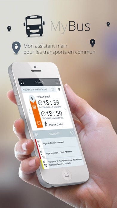 Screenshot of MyBus - Édition Troyes1