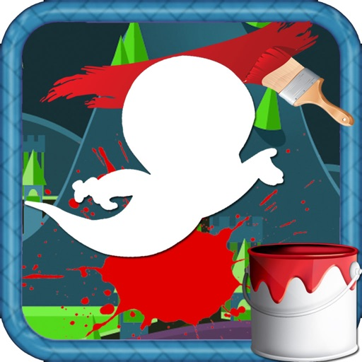Color For Kids Games Casper Edition iOS App
