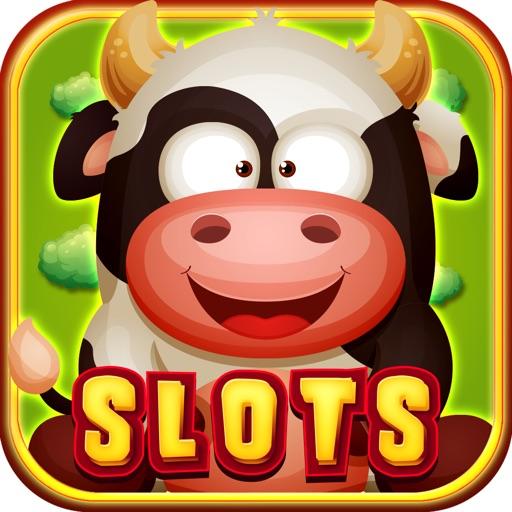 """777"" Farm Fruit Lucky Vegas Fun Slots HD -  Spin To Win Rich Gold Treasure iOS App"