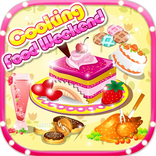 Cooking Food Weenkend - Cute Baby Loves Making Cake,Sandwich,Pizza Salon,Kids Free Games iOS App