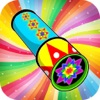 Kaleidoscope Doodle Pad - Funny Paint & Free Drawing Free Games