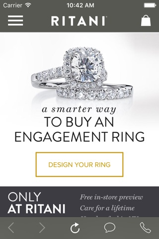Ritani - A Smarter Way To Buy An Engagement Ring screenshot 1