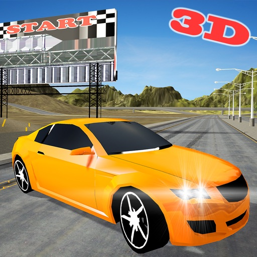 Extreme Car Race Simulator 3D iOS App