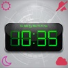 Digitale Forecast Clock-Free